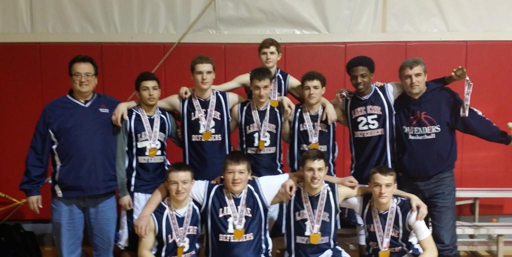 Varsity Boys Runner-up – Lake Erie Defenders