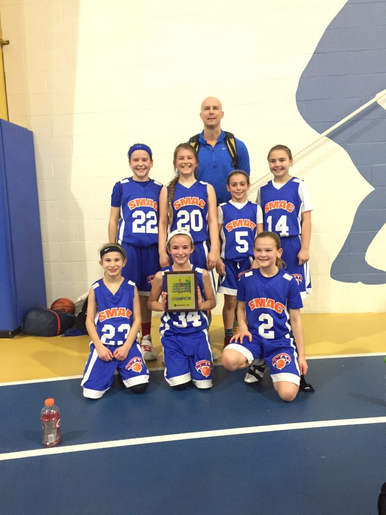 4th Girls Champion- SMAC Attack