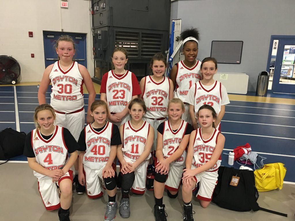4th Girls Runner Up-Dayton Metro