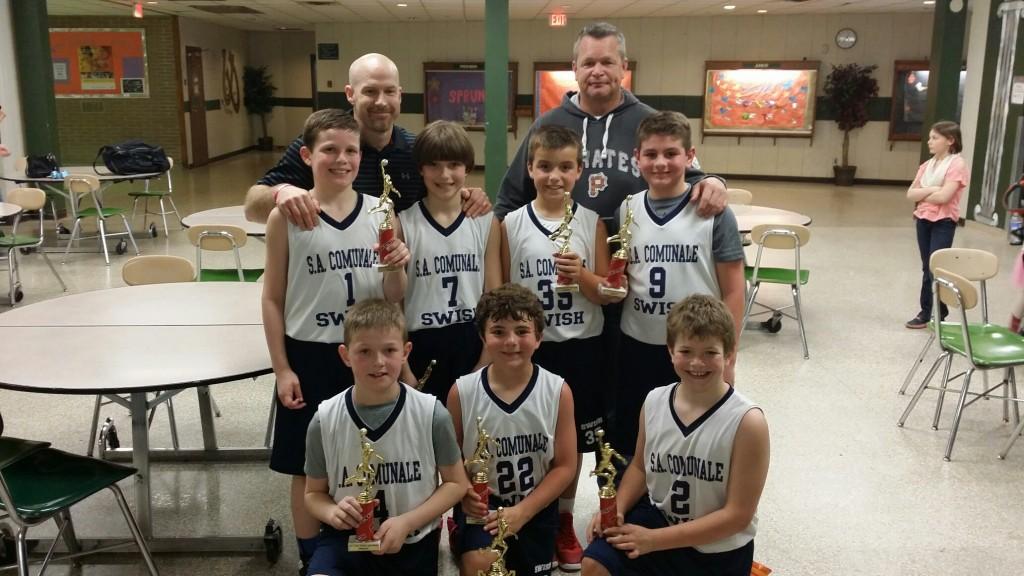 4th Grade Boys Runner Up- Erie Swish