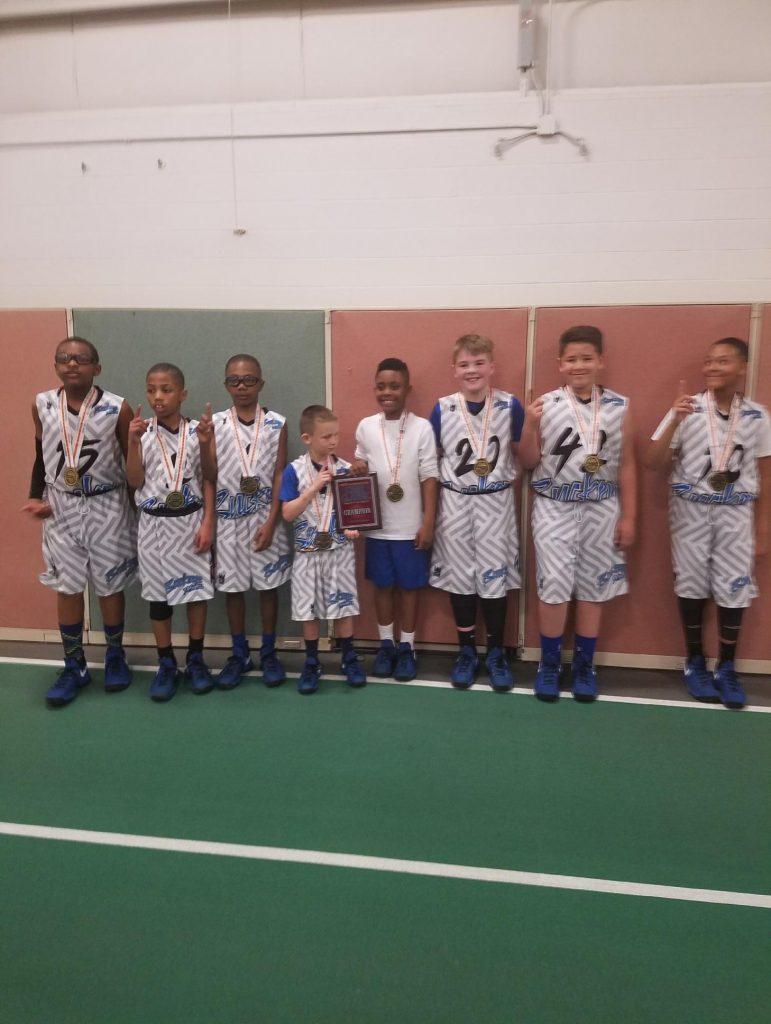4th Grade Champions- Buckeye Defenders