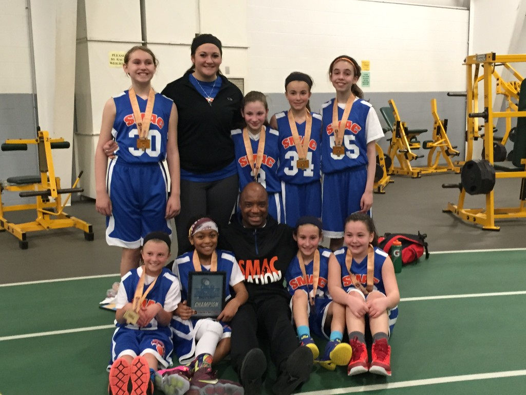 4th girls champions- SMAC Baby Ballers