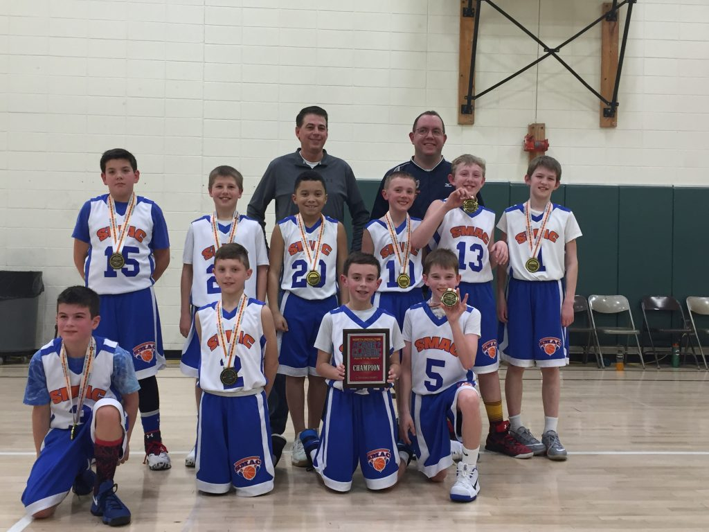 5th Boys Champions-SMAC Byers