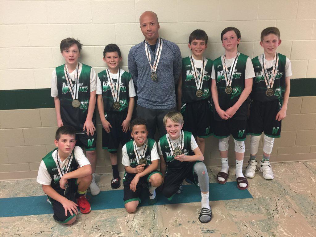 5th Boys Runner Up- Warriors