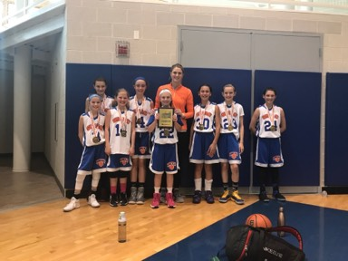 5th Girls Champion- SMAC Believe