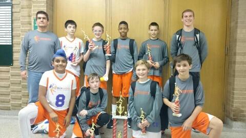 6th Boys Champions- Power Hoops