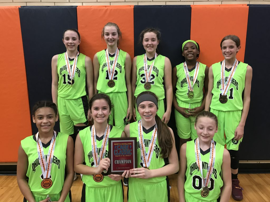 6th Girls Champion- Ohio Panthers