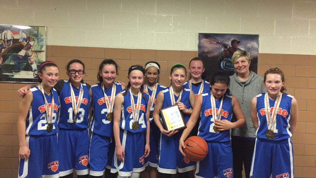 6th Girls Champion- SMAC Lady Primetime