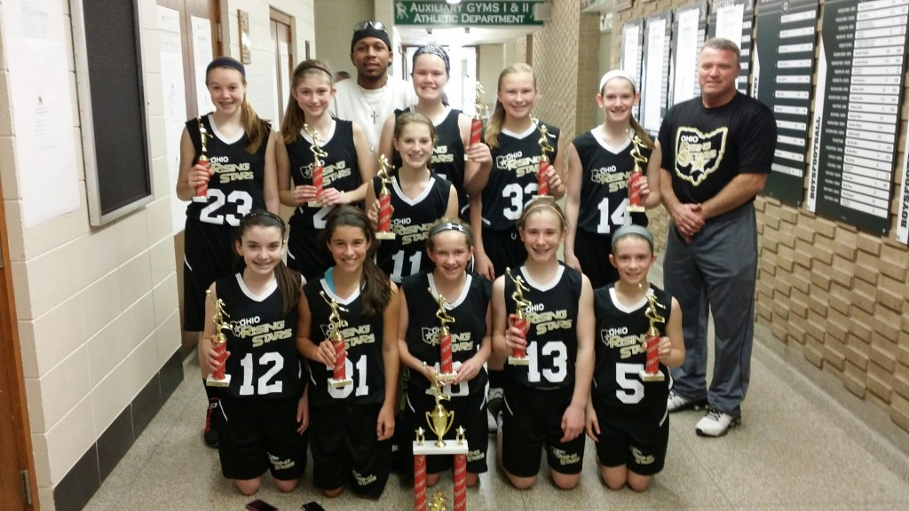 6th Grade Girls Champions- ORS-Robinson