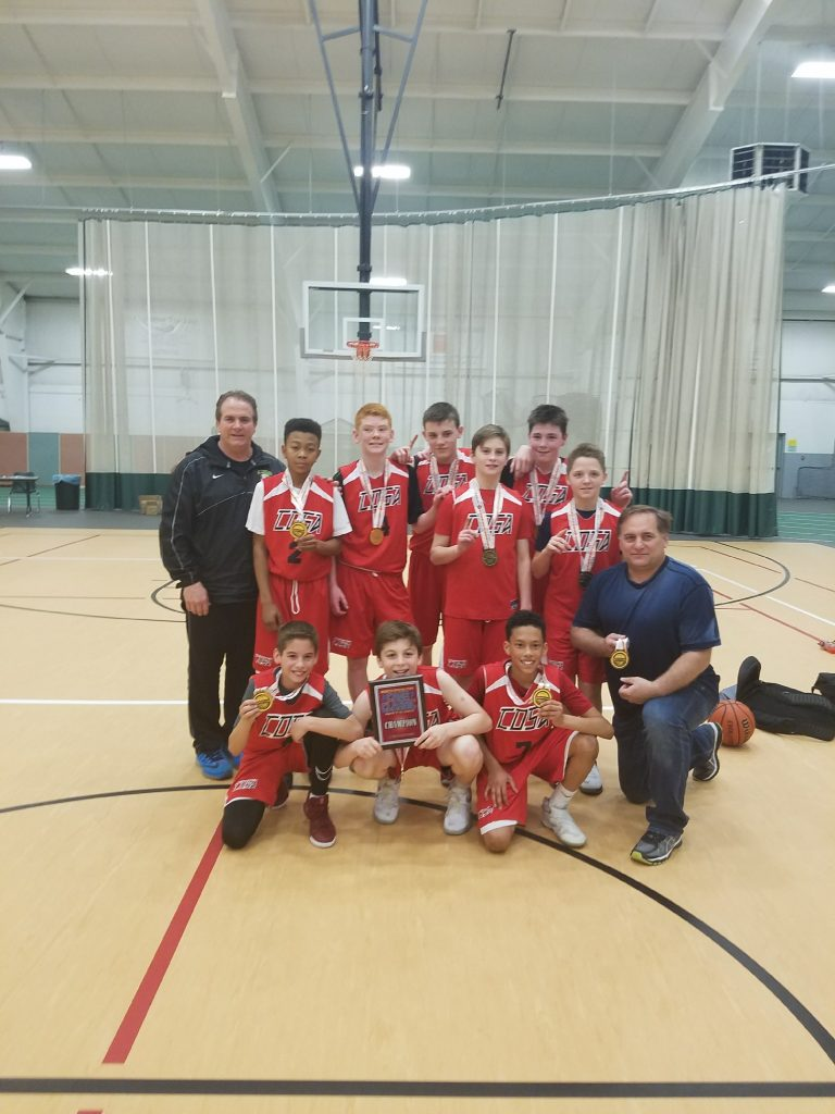 6th boys Champions- Cosa Scarpetti
