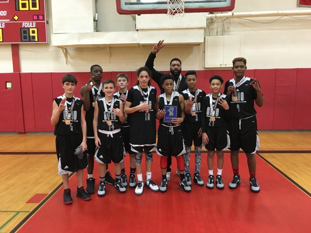 7th Boys Champion – OBC Black