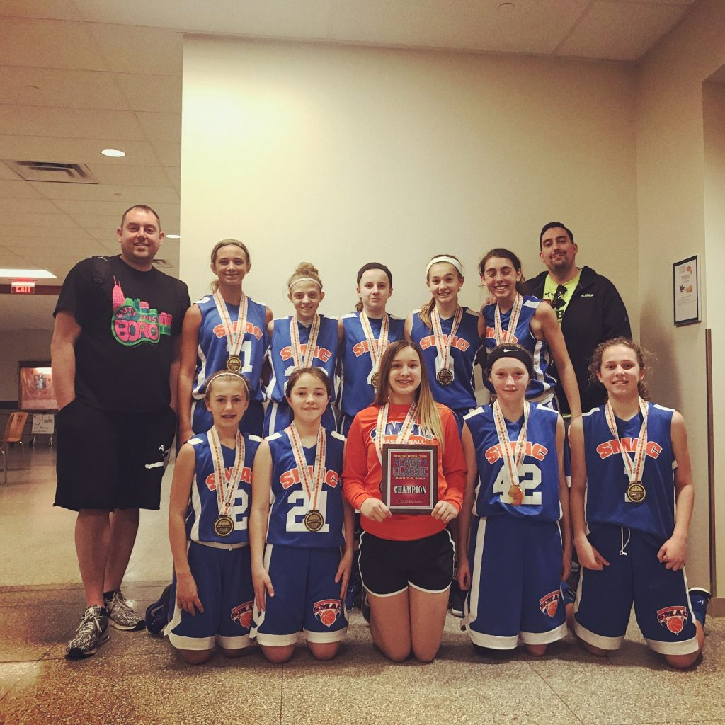 7th Girls Champions-SMAC Family