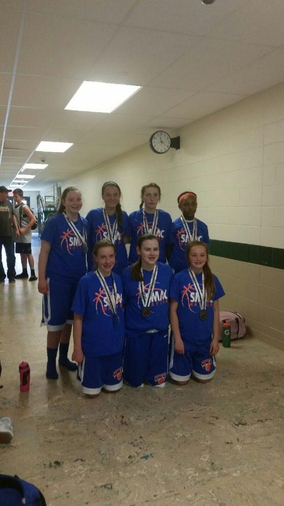 7th Girls Runner Up- SMAC Fitz