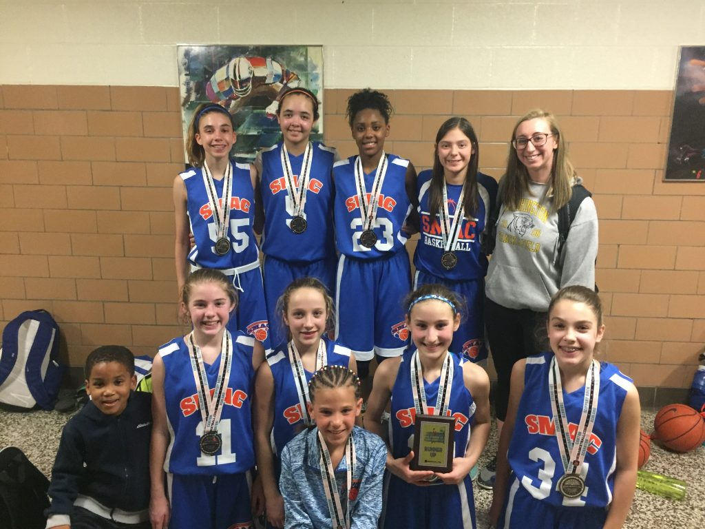 7th Girls Runner Up- SMAC Young Ballers