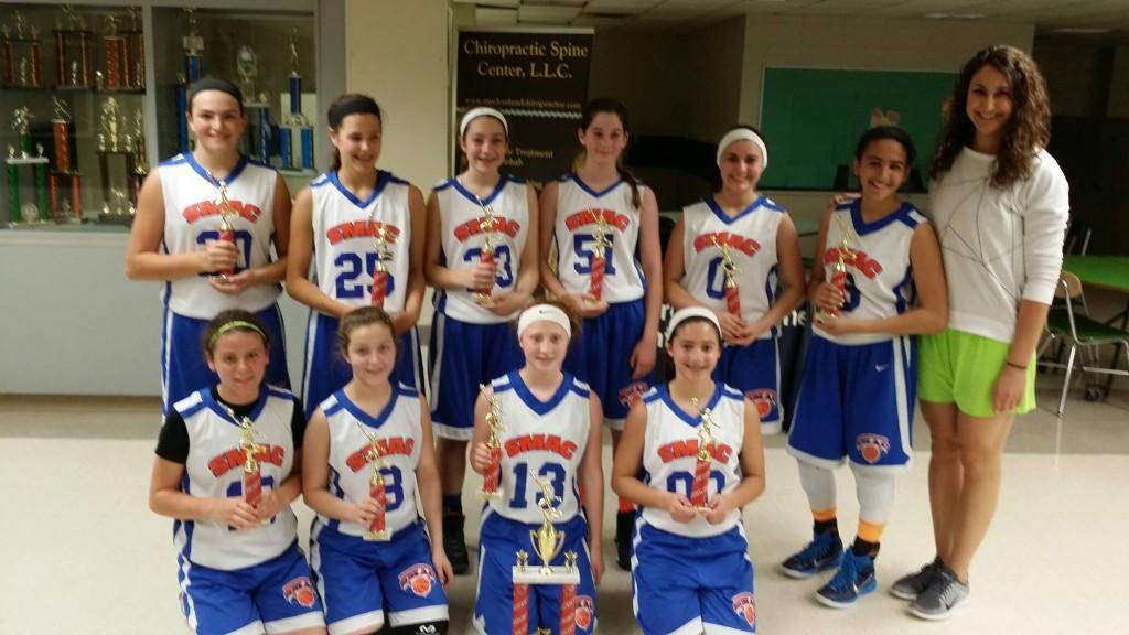 7th Grade Girls Champions- SMAC Fierce