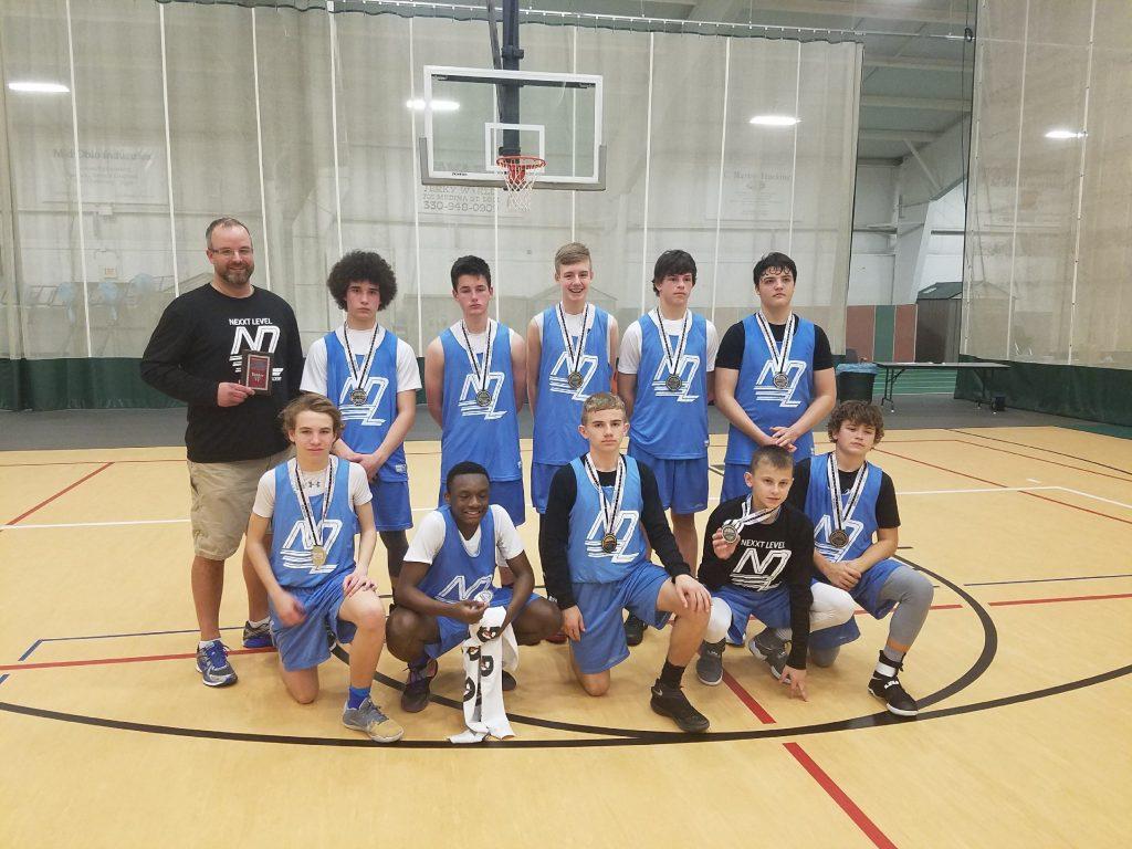 8th Boys Runner Up- Next Level Ballers