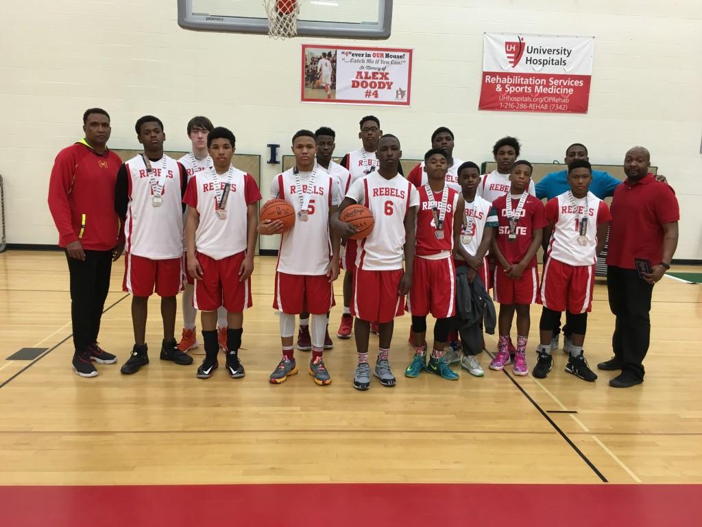 8th Boys Runner-up Rebels Basketball