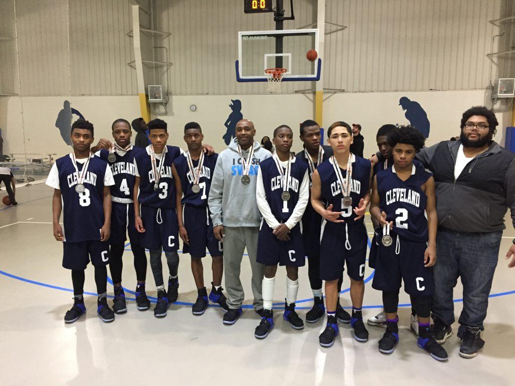 8th Boys Silver Champion- Cleveland