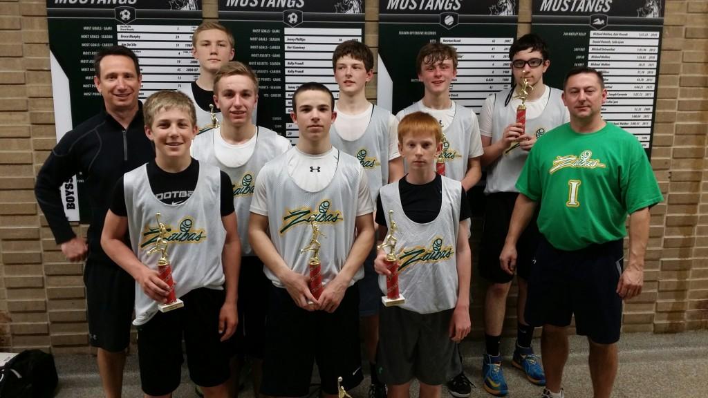 8th Grade Boys Champions- Zaibas