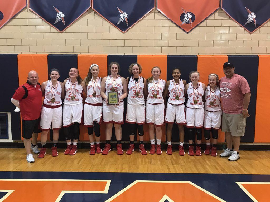 9th Girls Winner-Dayton Metro