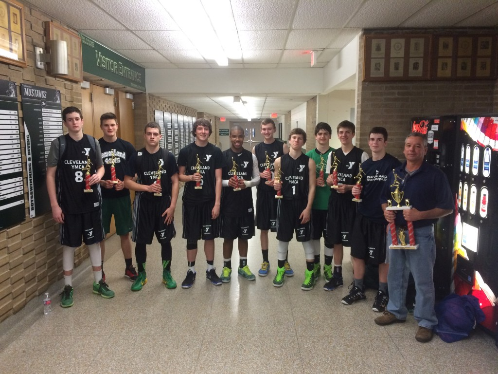 9th Grade Boys Champion-YMCA McGrogan