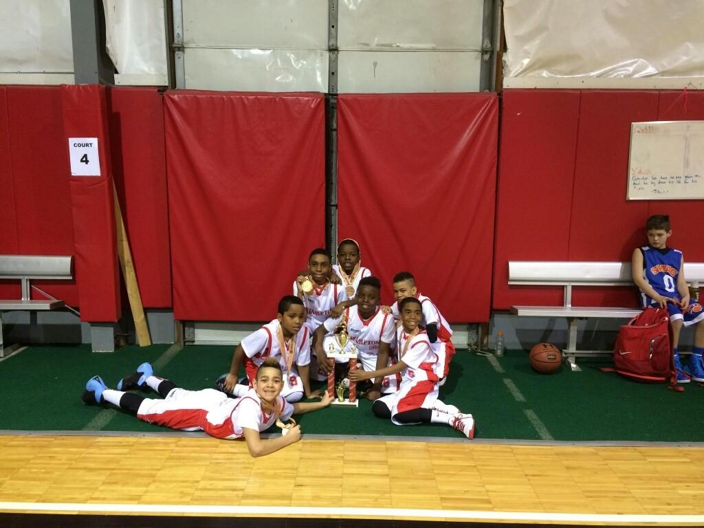 3rd Grade Champions: Brampton Warriors