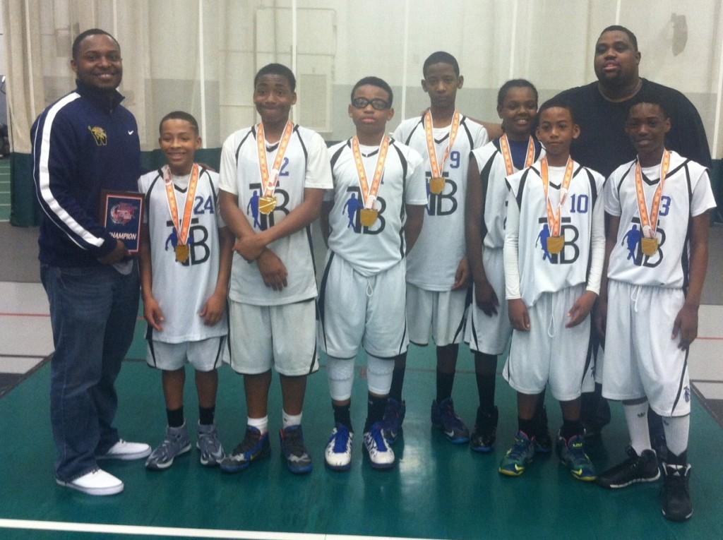 North Royalton Cage 6th boys Champions Truth Basketball