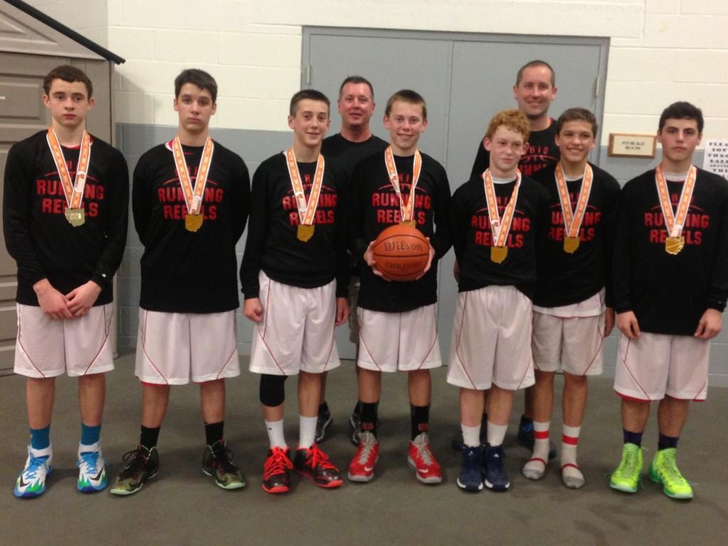 North Royalton Cage 7th boys Ohio Running Rebels