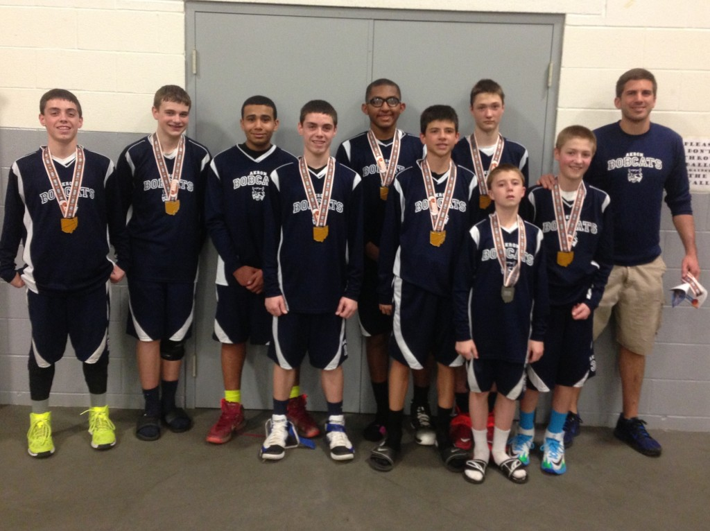 North Royalton Cage 7th boys Runner up Akron Bobcats