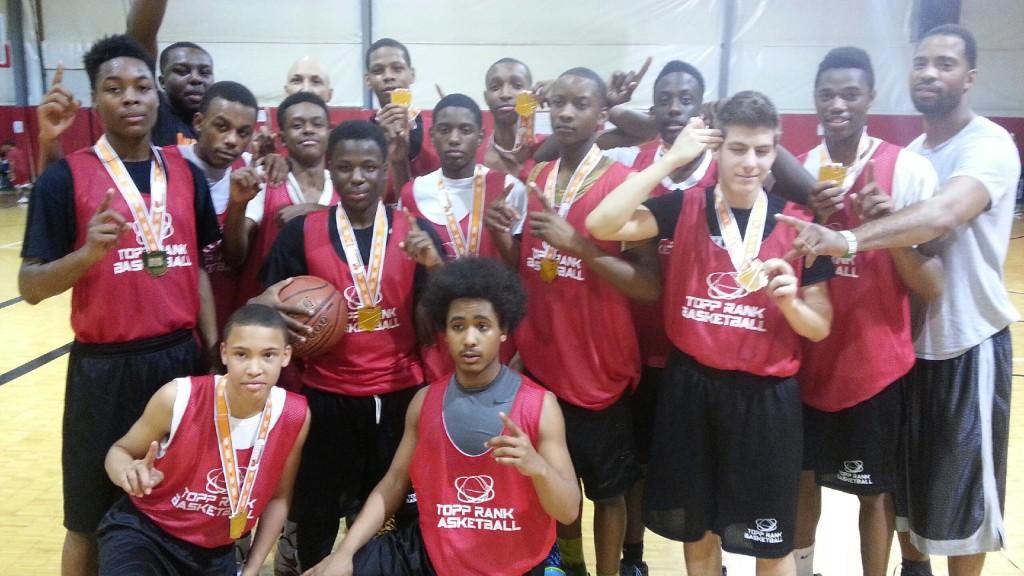 North Royalton Cage classic Varsity boys champs Top Rank Basketball