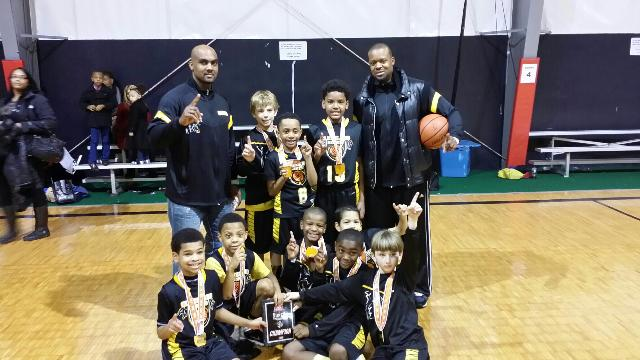 Cleveland Heights – 3rd Grade Boys Champions