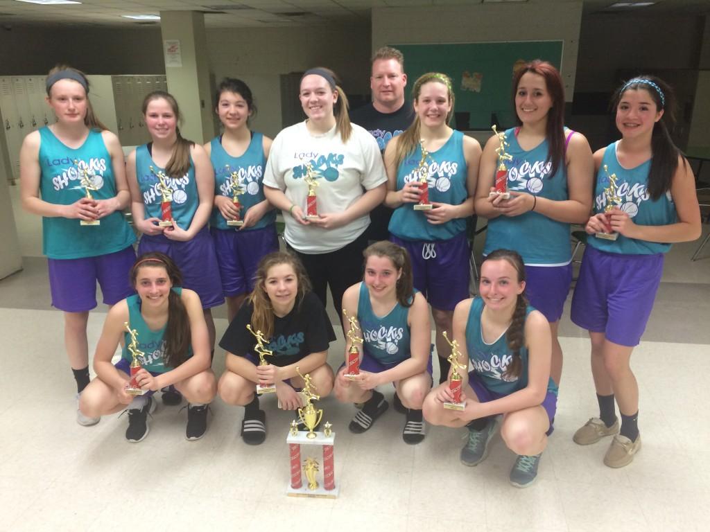Varsity Girls Runner Up- Lady Shocks
