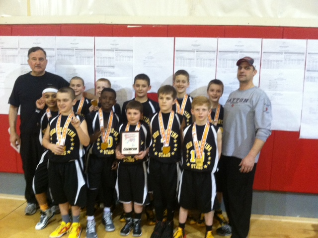 4th Grade Boys Champion – Ohio Shooting Stars