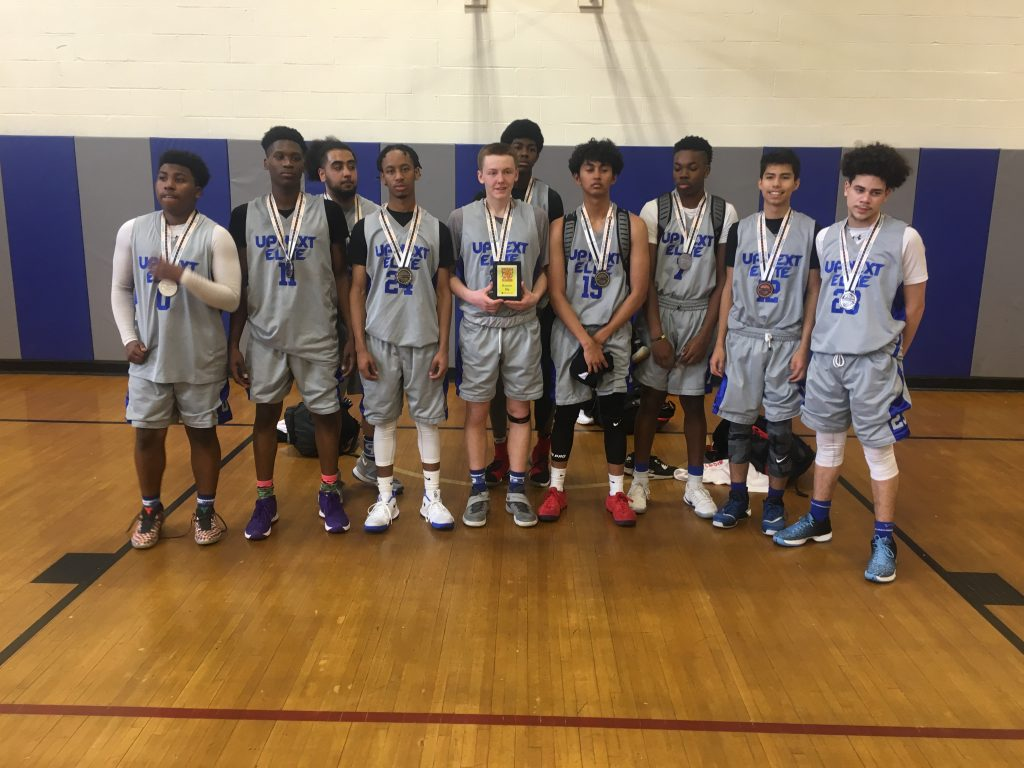 10th Grade Boys Runner Up: Uptown Elite Grey