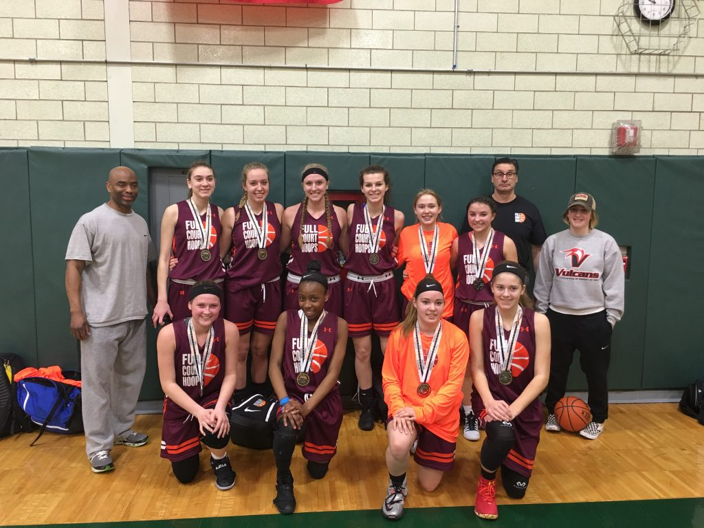 10th Grade Girls Runner Up- Full Court Hoops