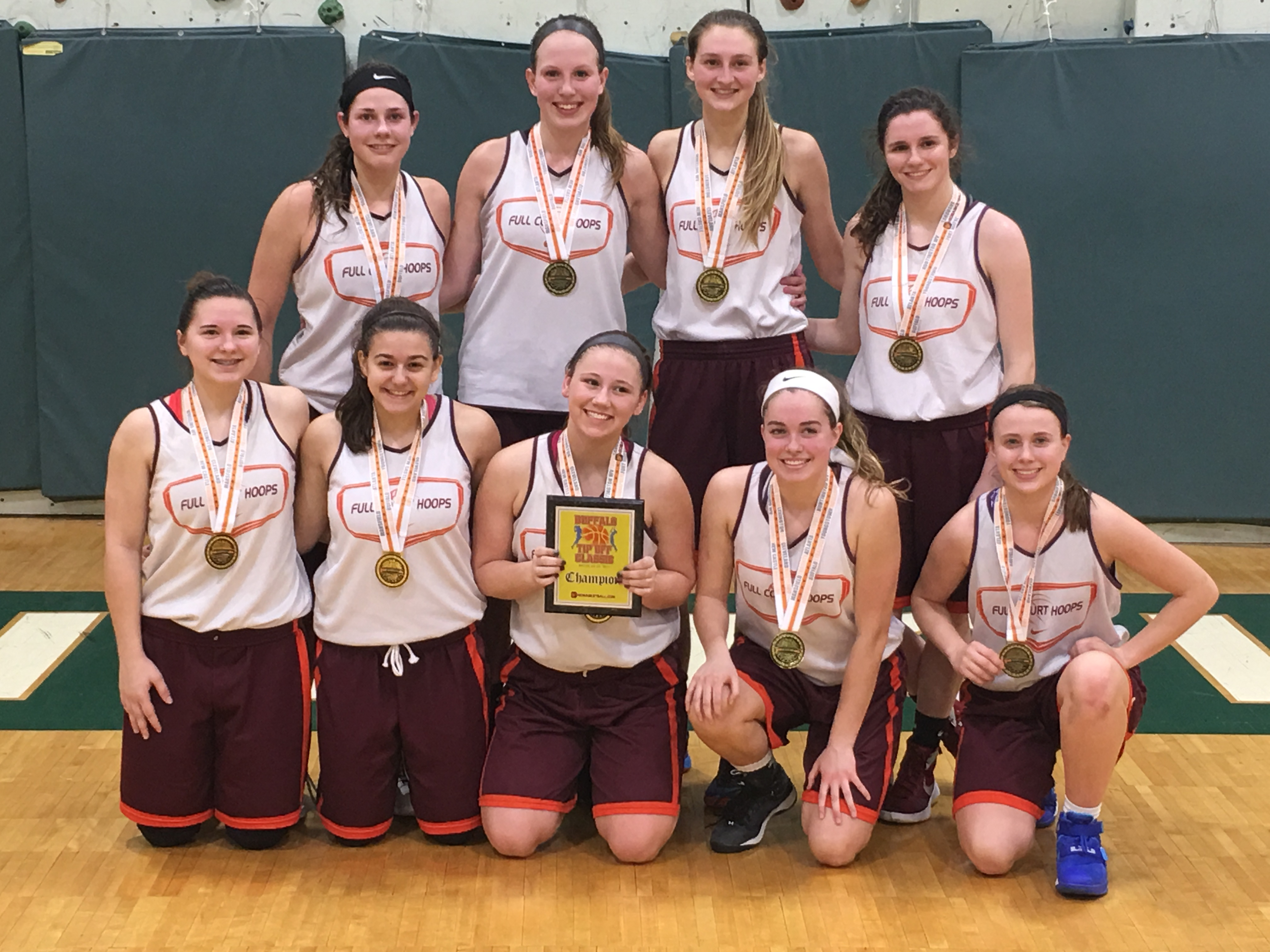 11th Grade Girls Champion- Full Court Hoops