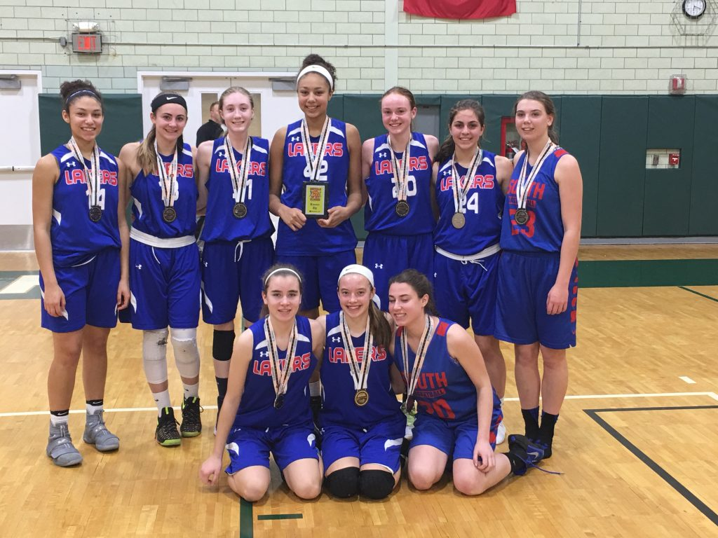 11th Grade Girls Runner Up-WNY Lakers