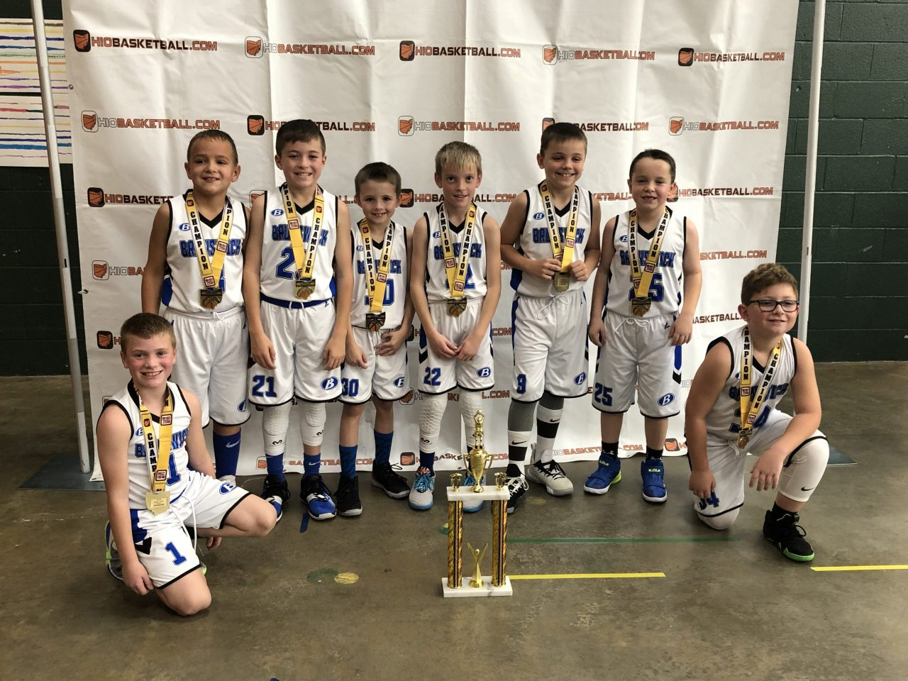 3rd Grade Boys A Runner-Up Indy blue devils
