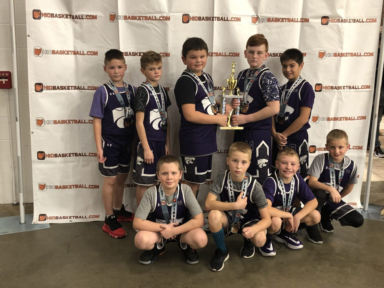 4th Boys B Gold Runner – Up keystone wildcats