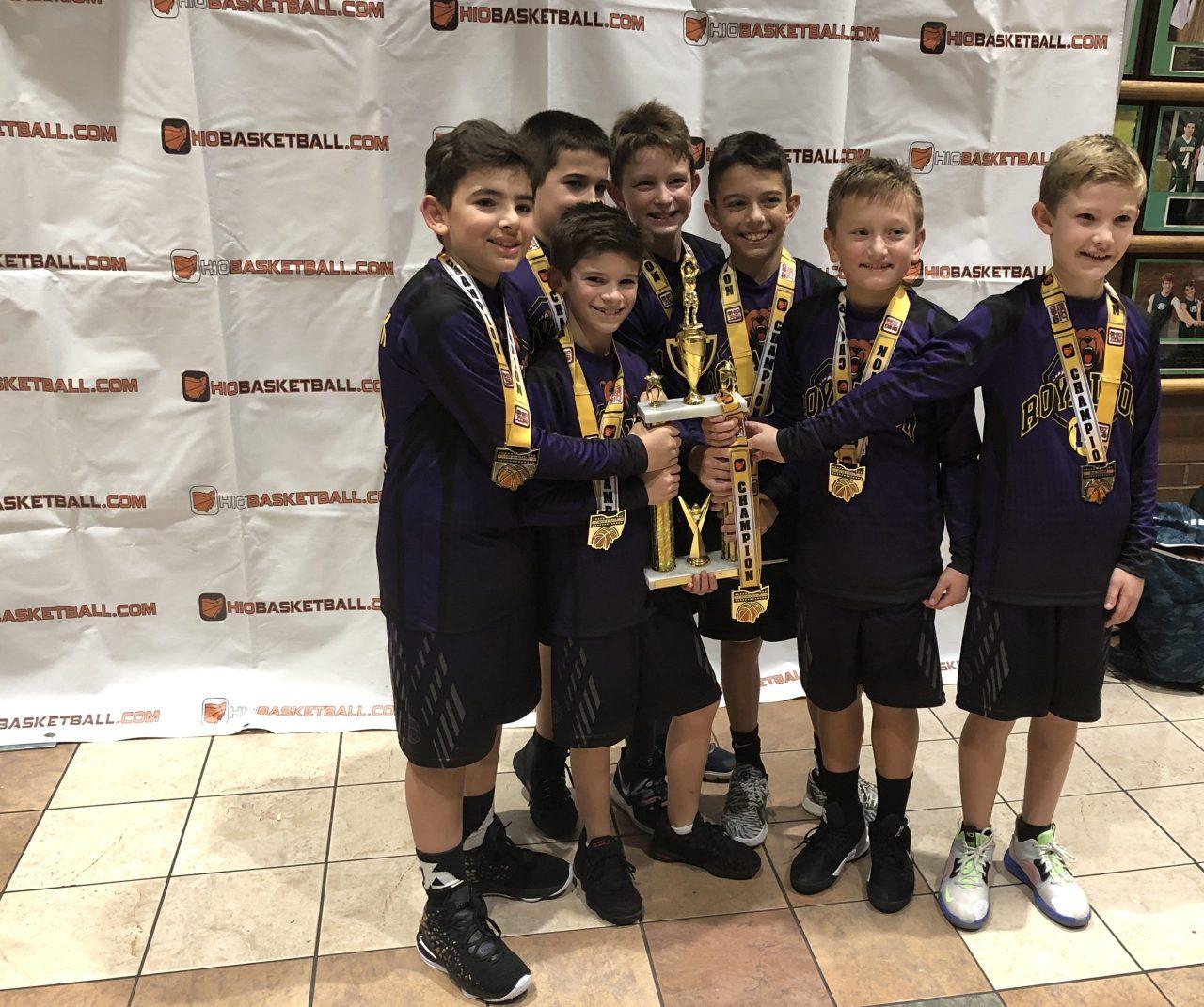 4th Boys Gold Champion North Royalton Purple
