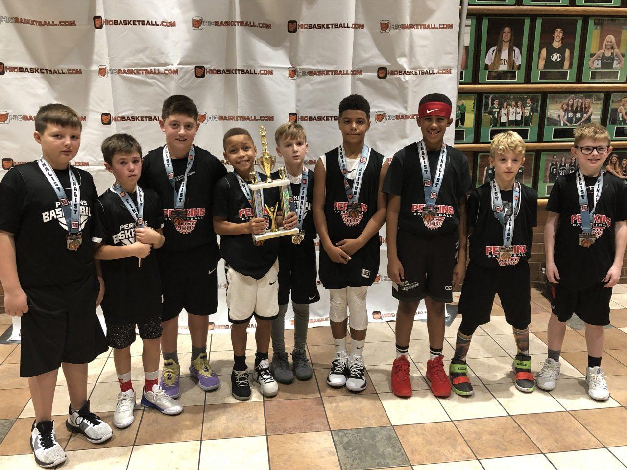 4th Boys Gold Runner-Up perkins pirates