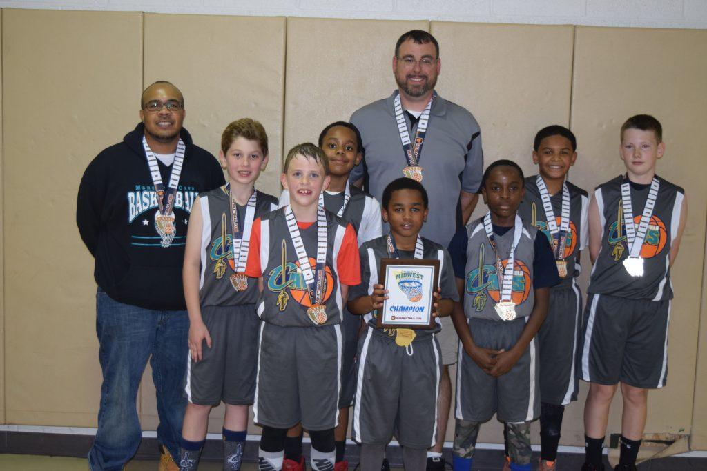 4th Grade Boys Champion Mansfielld Cavs