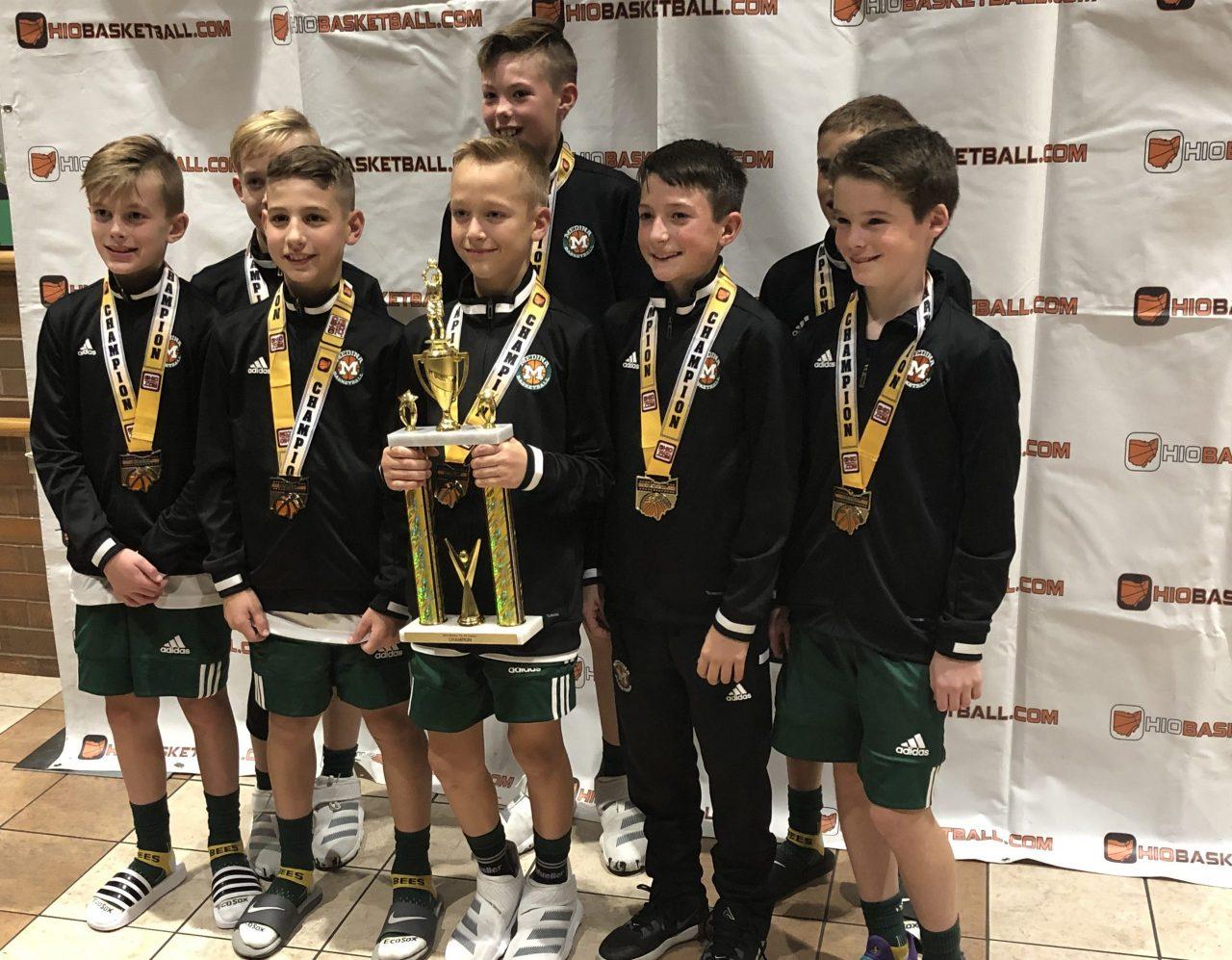 5th Boys A Gold Champion Medina
