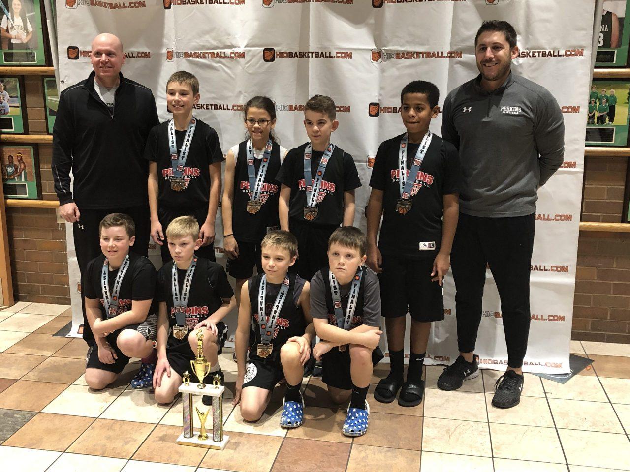 5th Boys A Gold Runner-Up perkins