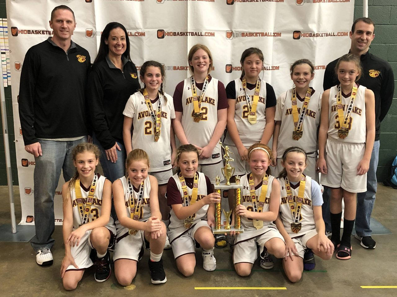 5th Grade Girls Champions Avon Lake