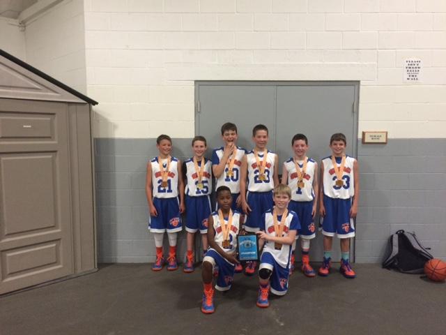 5th grade champions -SMAC select:premier