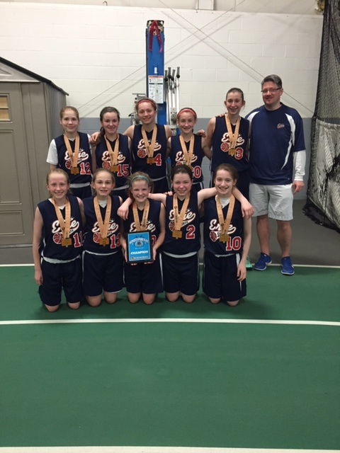 6:7th Girls Champion- Erie Saints