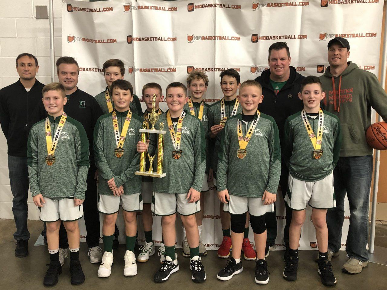 6th Boys A Gold Champion highland