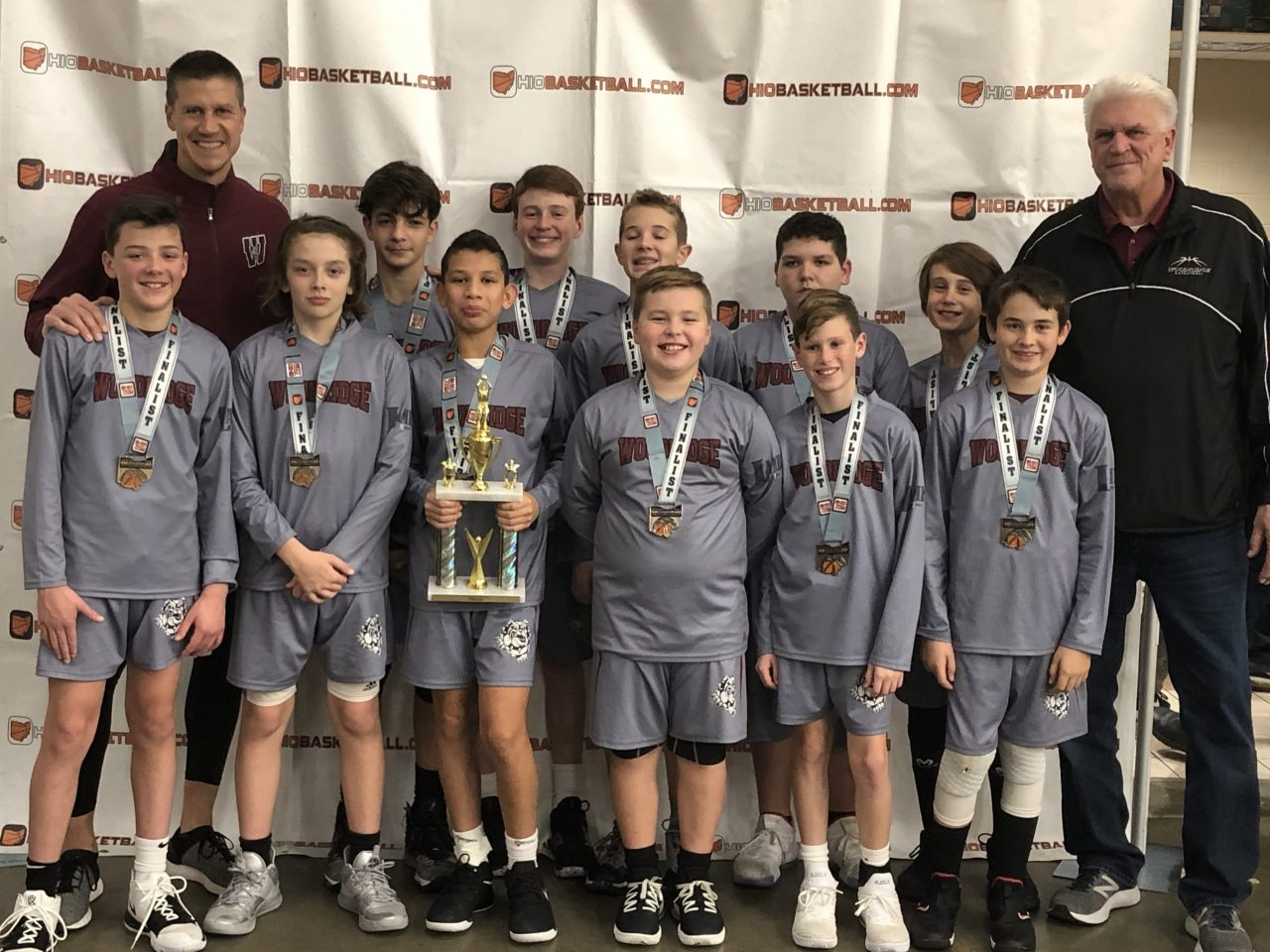 6th Boys A Gold Runner-Up woodridge