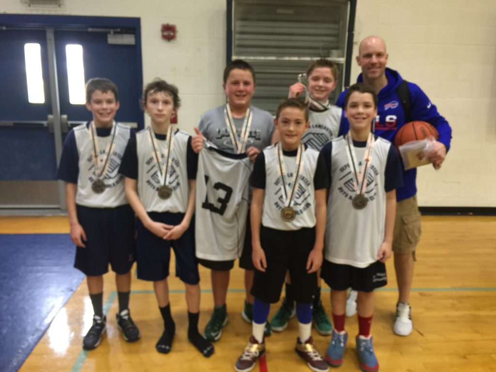 6th Grade Boys Runner Up-Lancaster Boys Club